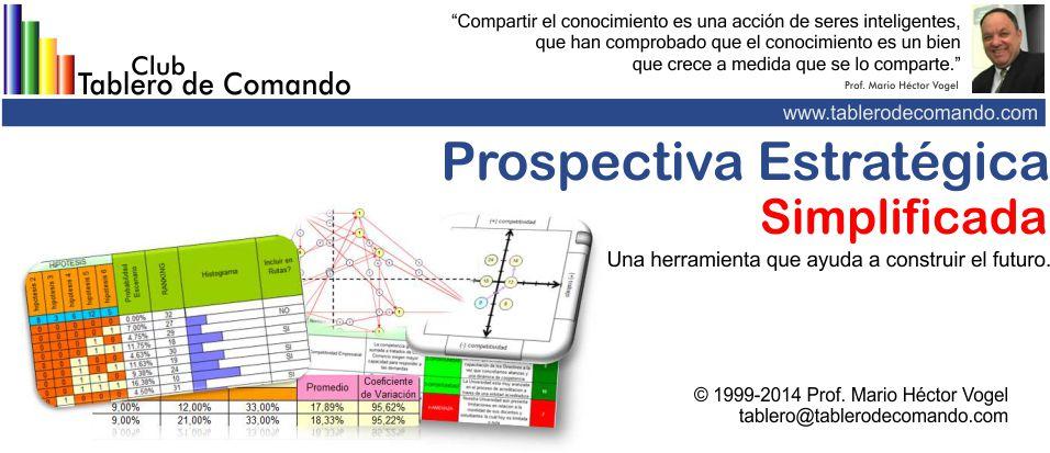 Planeación Estratégica: software desarrollado en Excel