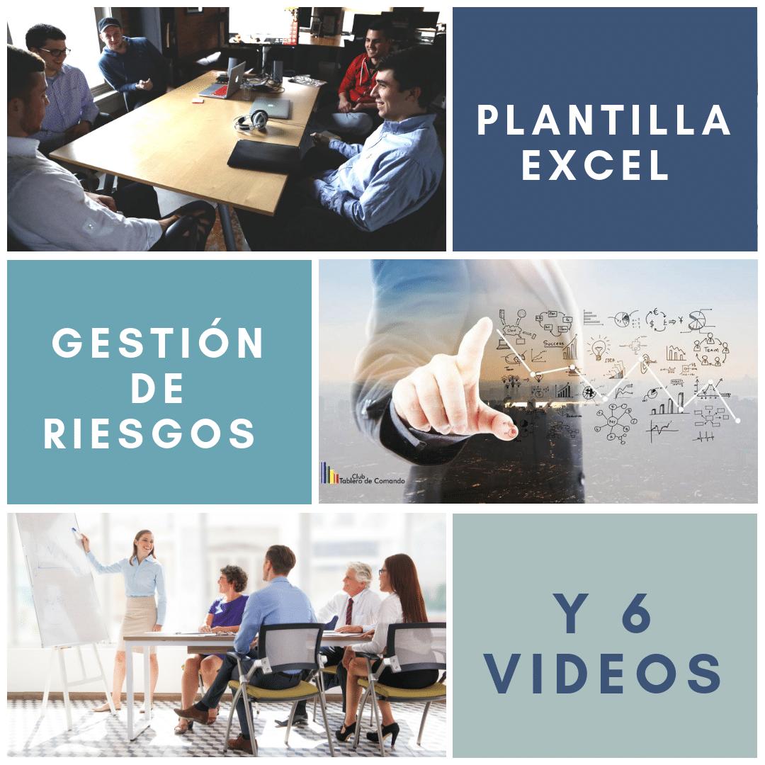 Plantilla Excel, de Gestión de Riesgos,Certificación ISO,Conferencia OHSAS 18001, ISO 9001, ISO 14001, ISO